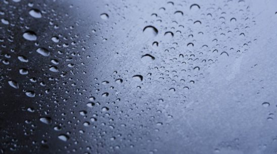 Free stock photo Full frame shot of water drops on glass