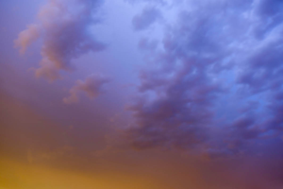 Free stock photo Low angle view of sky during sunset