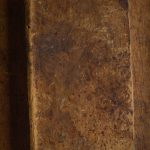 Free stock photo High angle view of old-fashioned book on table