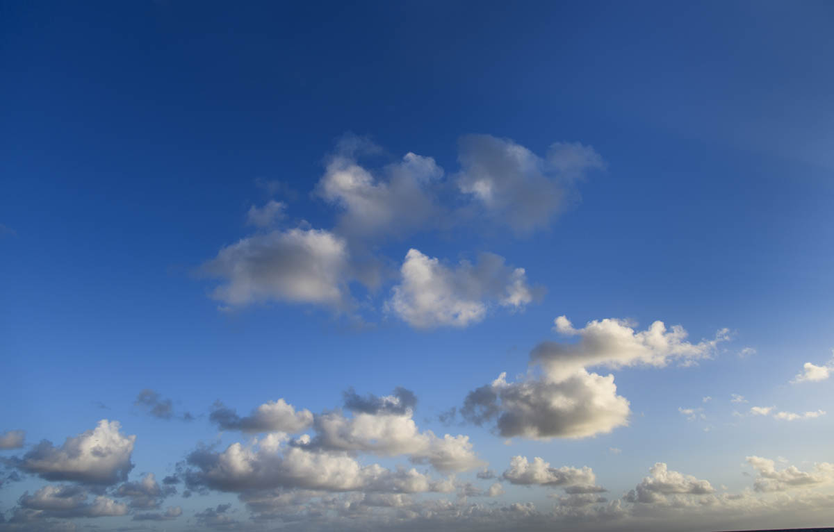 Free stock photo Low angle view of clouds in sky