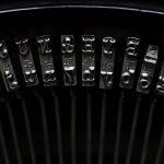 Free stock photo Close-up of typewriter keys