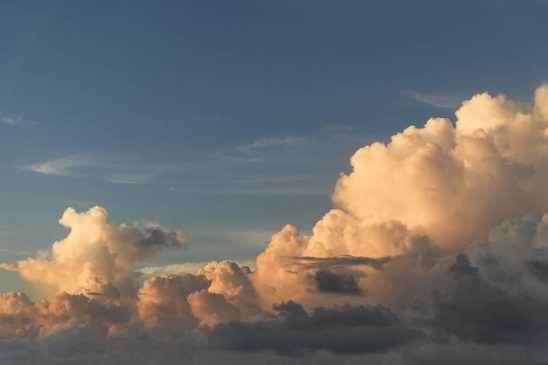 Free stock photo Low angle view of dramatic clouds in sky