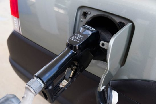 Free stock photo Close-up of gasoline pump refueling car