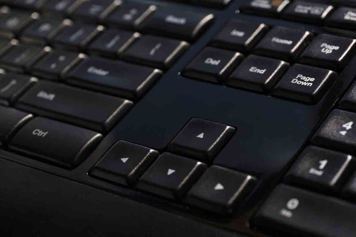 Free stock photo Close-up of text and signs on computer keyboard