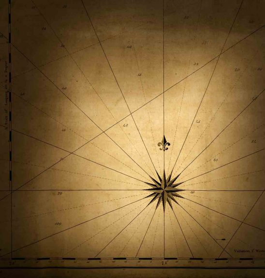 Free stock photo Close-up of compass rose