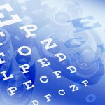 Free stock photo Optometrist vision test eye charts and phoropter
