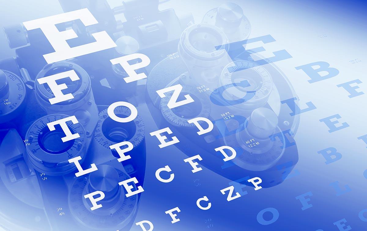Free stock photo Optometrist vision test eye charts and phoropter