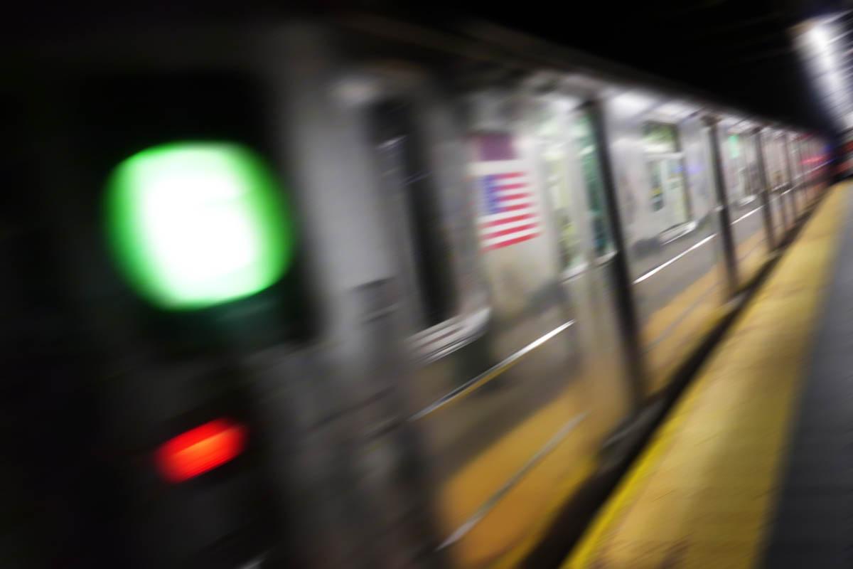 Free stock photo Defocused image of passenger subway