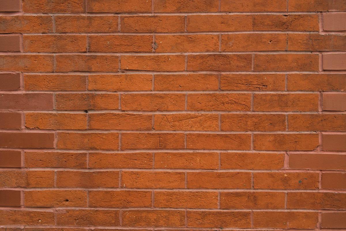 Free stock photo Horizontal close-up of brick wall
