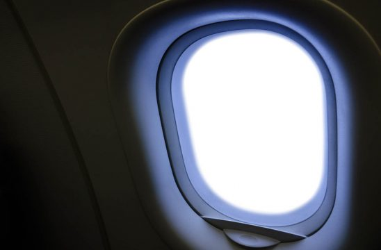 Free stock photo Close-up of airplane window