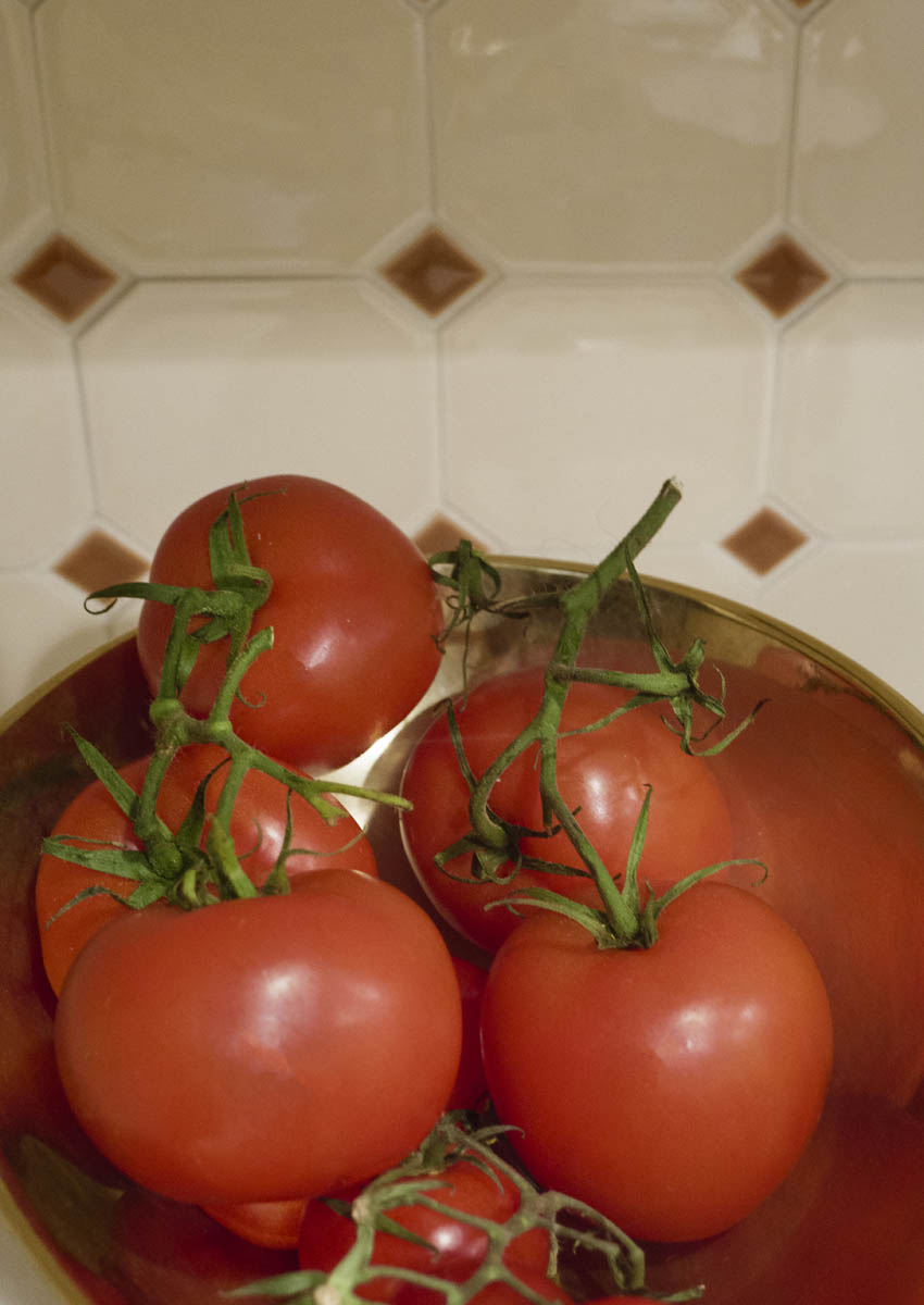 Free stock photo Close-up of tomatoes in bowl