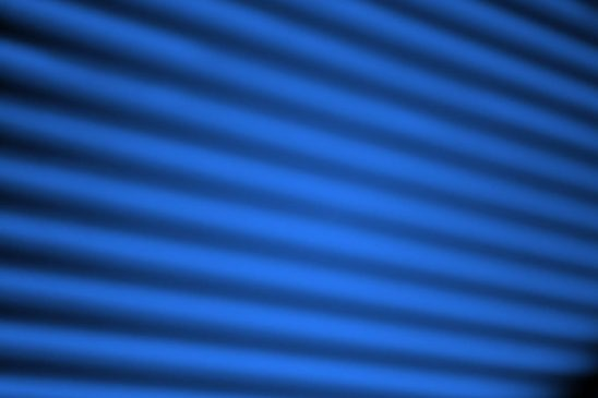 Free stock photo Soft focus image of blue blinds