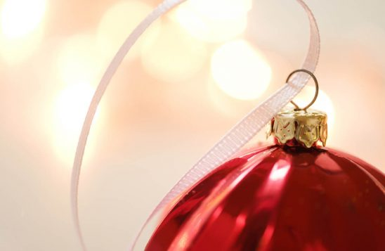 Free stock photo Close-up of string on Christmas ornament