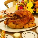 Free stock photo Roasted turkey for Thanksgiving on dinning table