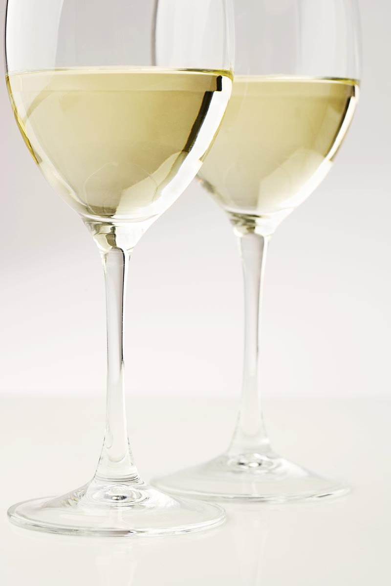 Free stock photo Two glasses of white wine