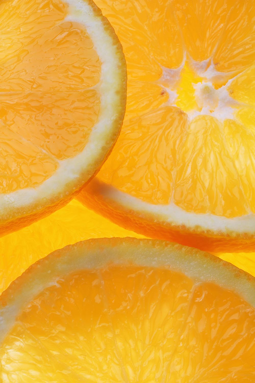Free stock photo Orange slices close up