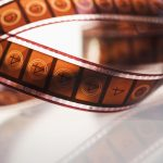 Free stock photo Strip of movie film