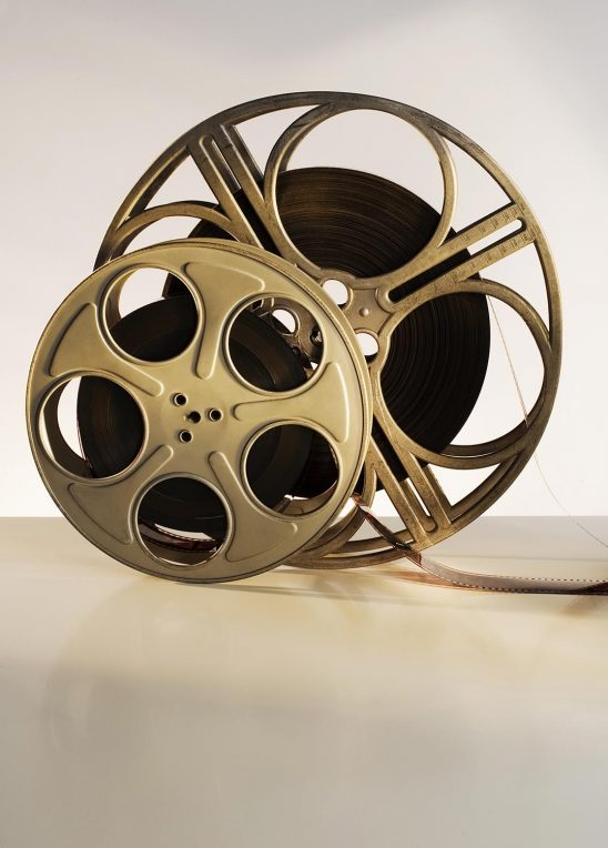 Free stock photo Cinema film reels