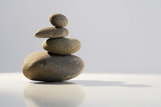 Free stock photo A zen-like grouping of stones also suggestive of spa