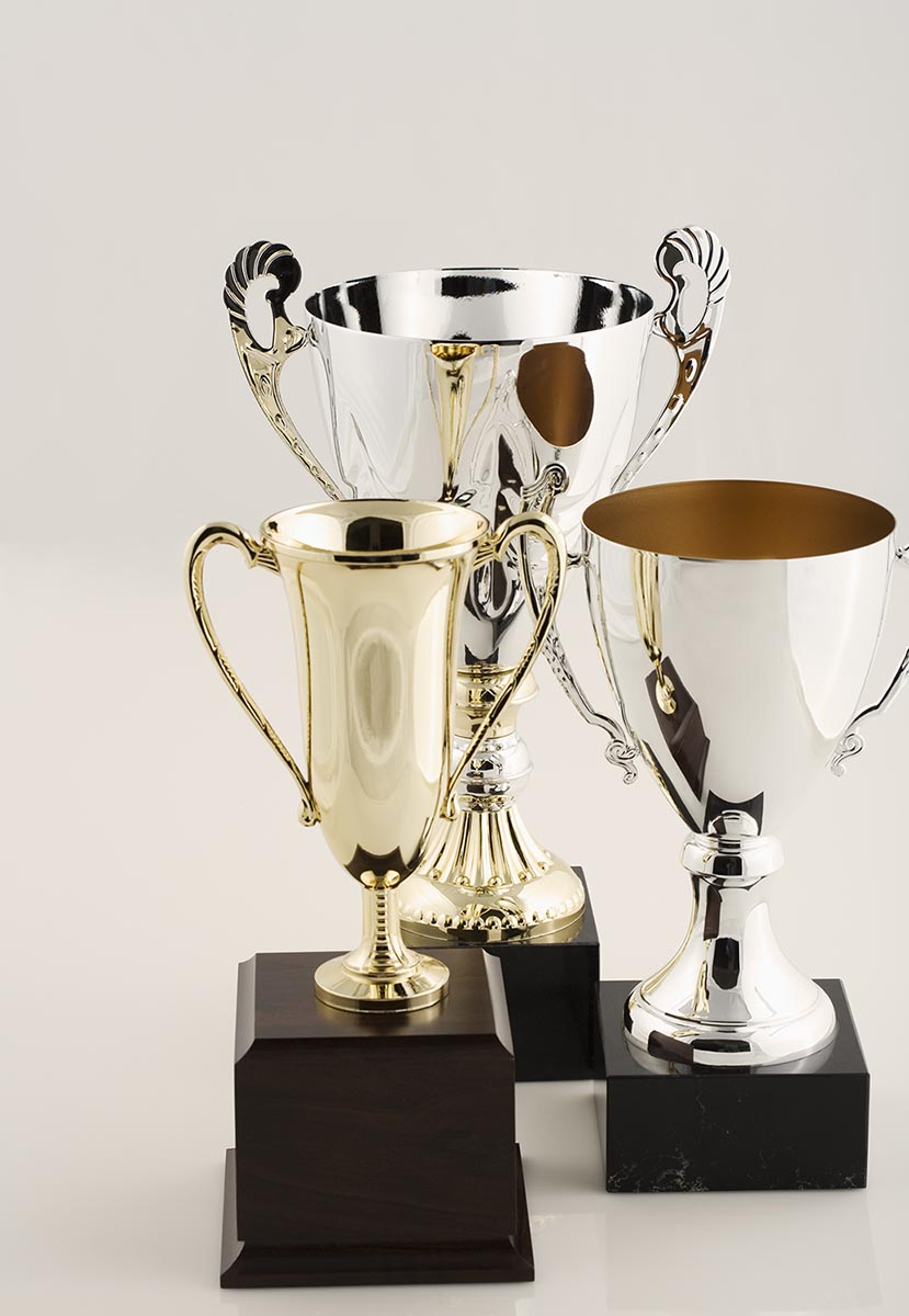 Free stock photo Group of trophies
