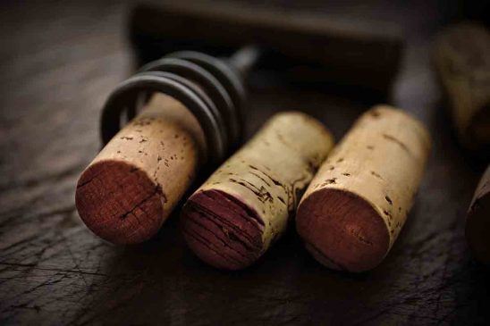 Free stock photo Close-up of corks on table