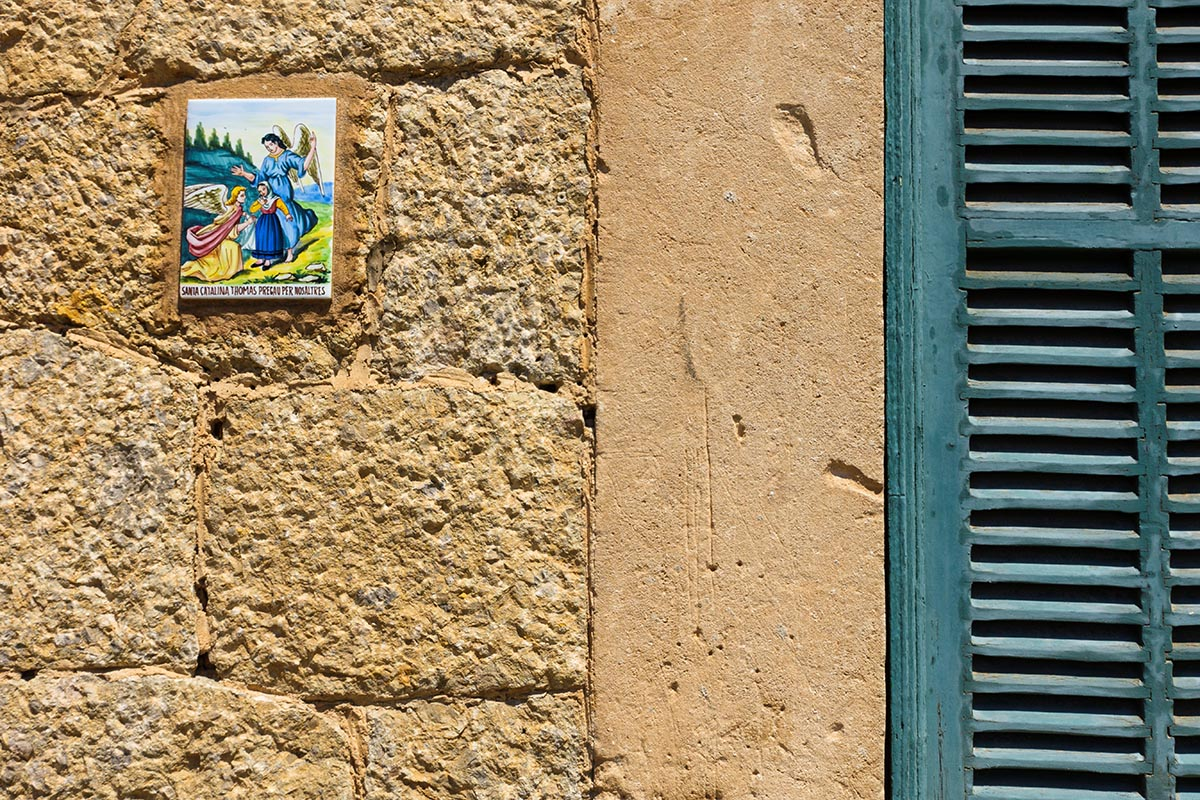 Free stock photo Ceramic street sign in Valldemossa, Majorca, Spain