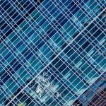 Free stock photo Abstract pattern of office building windows