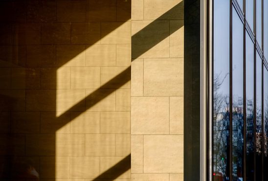 Free stock photo Abstract shadow patterns on an office building