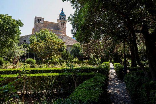 Free stock photo Gardens of the Cartuja in Valldemossa, Majorca, Spain