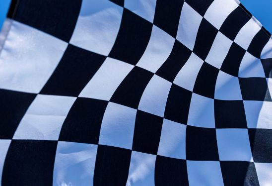 Free stock photo Background of a waving checkered flag