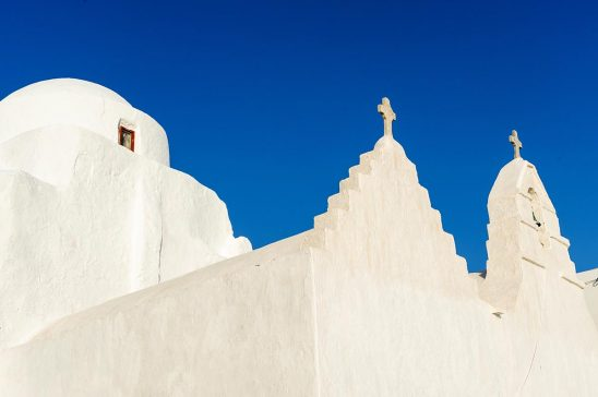 Free stock photo Praportiani church on Mykonos, Greece