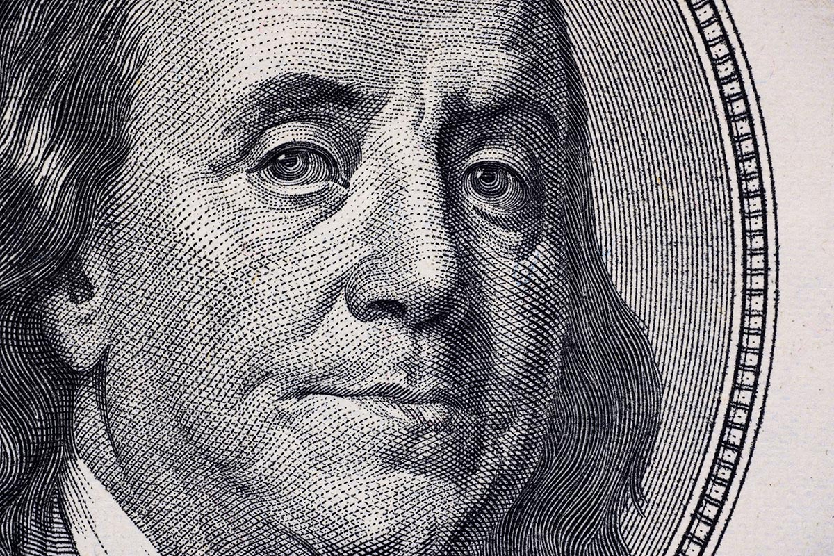 Free stock photo Portrait of Ben Franklin