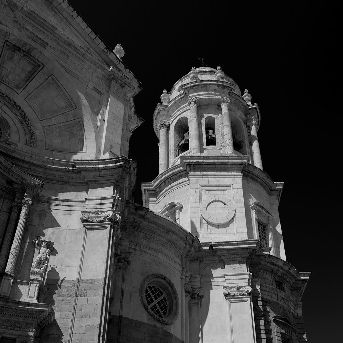 Free stock photo Santa Iglesia Church in Cadiz, Spain