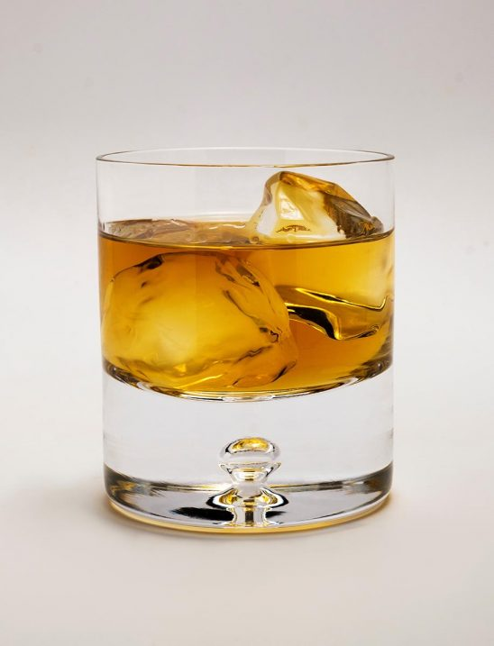 Free stock photo Glass of whiskey with ice