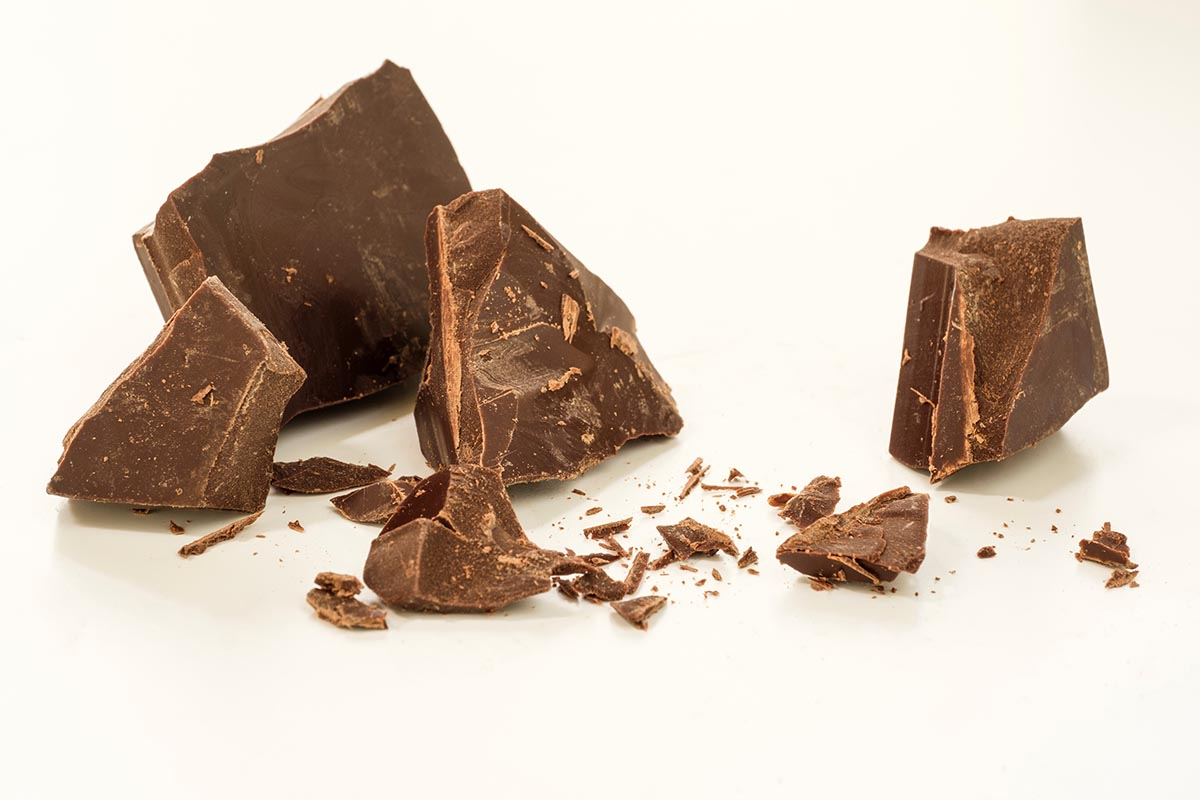 Free stock photo Chunks of dark chocolate