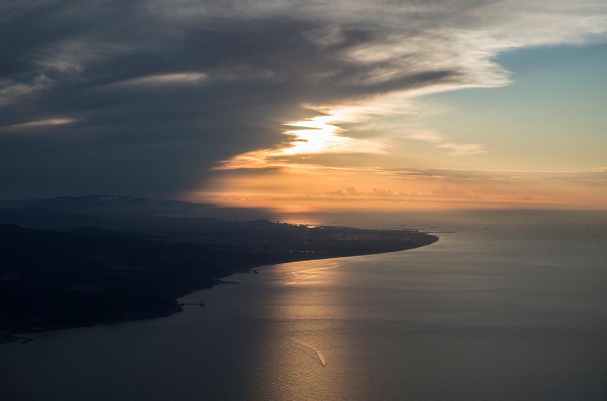 Free stock photo Coast of Spain near Barcelona