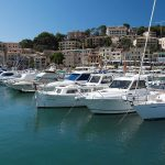 Free stock photo Harbor with boats in Soller, Mallorca, Spain