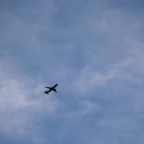 Free stock photo Jet plane flying against the sky
