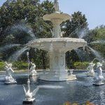Free stock photo Fountain in Forsyth Park, Savannah, Georgia