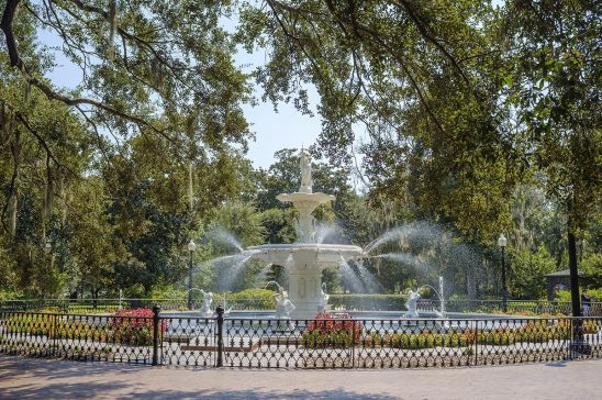 Free stock photo Forsyth Park fountain in Savannah, Georgia