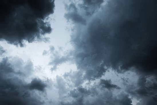 Free stock photo Dark cumulus clouds during a thunderstorm