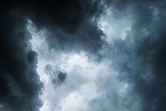 Free stock photo Storm clouds during a thunderstorm