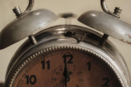 Free stock photo Close up of an old alarm clock ringing