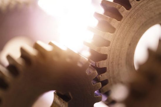 Free stock photo Close up of gears turning