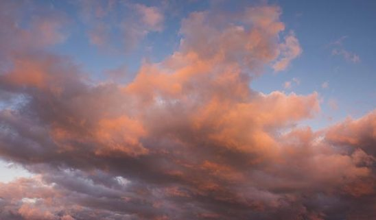 Free stock photo Background of colorful sunset clouds against the sky
