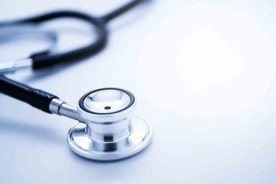 Free stock photo Close-up of stethoscope on white background