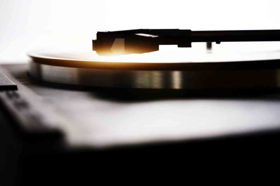 Free stock photo Close-up of record on turntable
