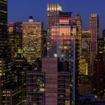 Free stock photo City building at night