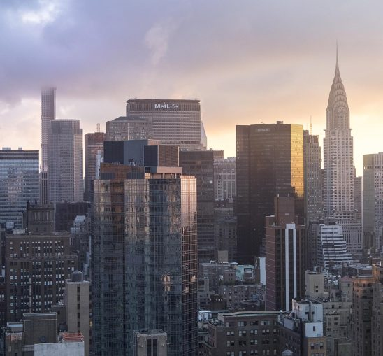 Free stock photo Midtown Manhattan at dawn