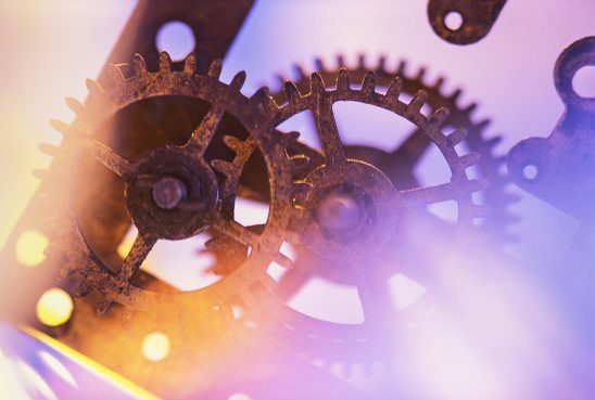 Free stock photo Rusted gears of an old clock